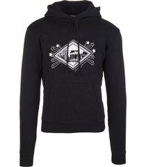 black jardin majorelle man hoodie