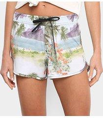 short osklen beach short rj color feminino