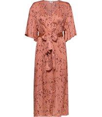 nellie dress knälång klänning rosa twist & tango