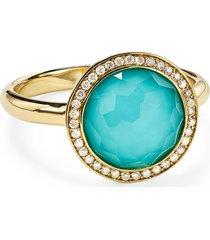 ippolita lollipop mini ring, size 7 in gold/diamond at nordstrom