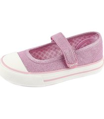 zapato urbano ballerina rosado ficcus
