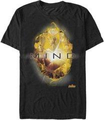 marvel men's avengers infinity war the mind stone short sleeve t-shirt