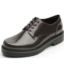 zapato gea casual oxford flexi