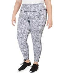ideology plus size printed leggings