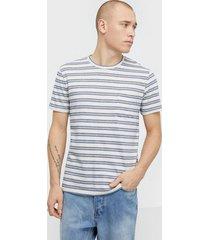 samsøe samsøe carpo t-shirt st 7888 t-shirts & linnen blue depths