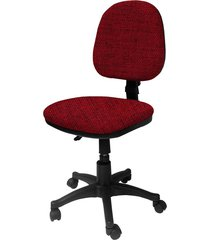 silla  lizza media rojo tomate   ref: 2025- sin brazos