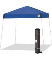 e-z up vantage instant shelter straight leg portable popup canopy tent 100 square feet of shade