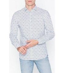 premium by jack & jones jprblackpool shirt l/s au19 sts skjortor vit