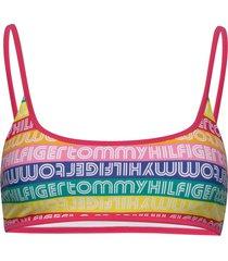 bralette bikinitop multi/mönstrad tommy hilfiger