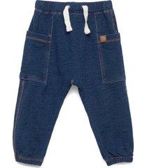 tom - jogging trousers sweatpants mjukisbyxor blå hust & claire