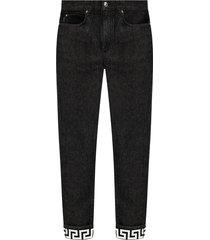 gedrukte jeans