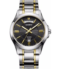 reloj casio mtp-1381g-1a-gris