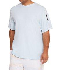 mvp collections by mo vaughn productions men's cargo zipper pocket t-shirt