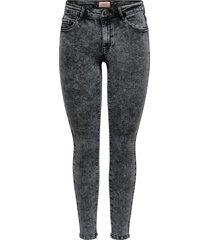 getailleerd jeans regen reg acid wash