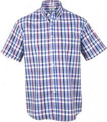 camisa fantasía premium manga corta gris claro kotting