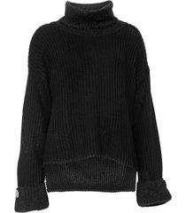 suéter carmim tricot pelo preto