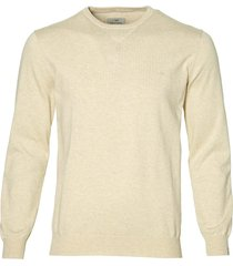 hensen pullover - slim fit - beige