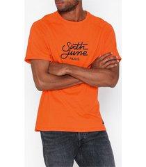 sixth june tee t-shirts & linnen orange