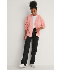 trendyol amy knit cardigan - pink