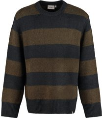 carhartt alvin long sleeve crew-neck sweater