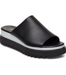 sandals shoes summer shoes flat sandals svart gabor