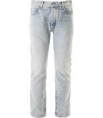 palm angels jeans with logo