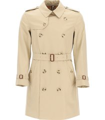 burberry kensington medium trench coat