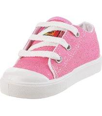 zapatilla rosa john stone glitter