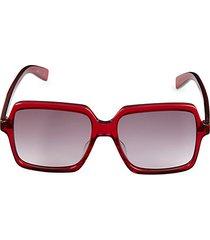 core 56mm oversized square sunglasses
