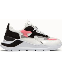 d.a.t.e. sneakers fuga netki colore bianco