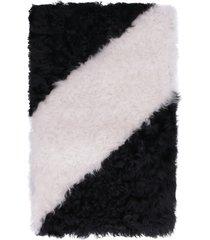mcm shearling maxi scarf