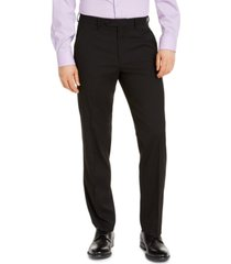 alfani men's classic-fit stretch solid suit pants, created for macy's