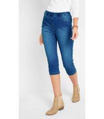capri comfort stretch jeans met comfortband, skinny