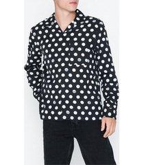 nudie jeans vidar dots skjortor svart