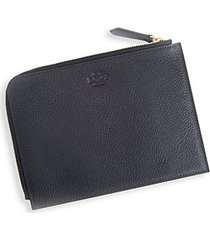 travel leather pouch
