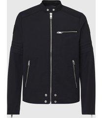 diesel j-glory giacca 900 black biker jacket -