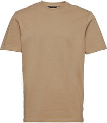 onsanel life reg ss tee t-shirts short-sleeved beige only & sons