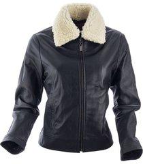 chaqueta aniston negro bosi