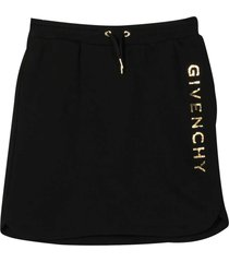 givenchy black teen skirt