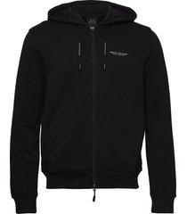 armani exchange felpa hoodie trui zwart armani exchange