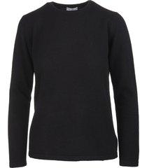 fedeli woman black arg. plutone pullover