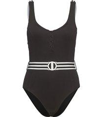 tank malliot baddräkt badkläder svart seafolly
