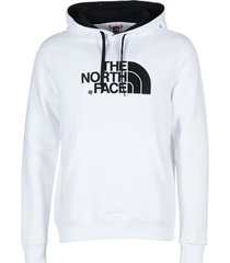 sweater the north face drew peak pullover hoodie
