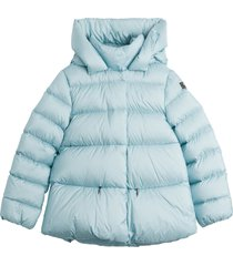 il gufo oversize nylon down jacket