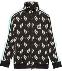 ikat zipped jacket