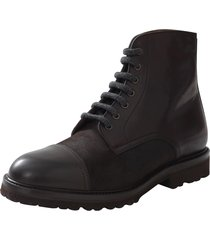 leather cap toe boot