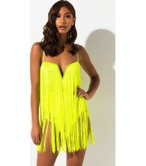 akira feel it still fringe bodysuit