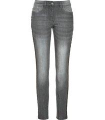 jeans elasticizzati con bande laterali (grigio) - bpc selection