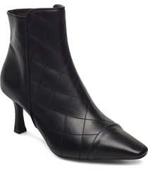 booties 5214 shoes boots ankle boots ankle boot - heel svart billi bi