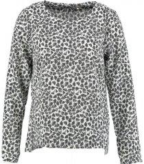 broadway polyester longsleeve blouse